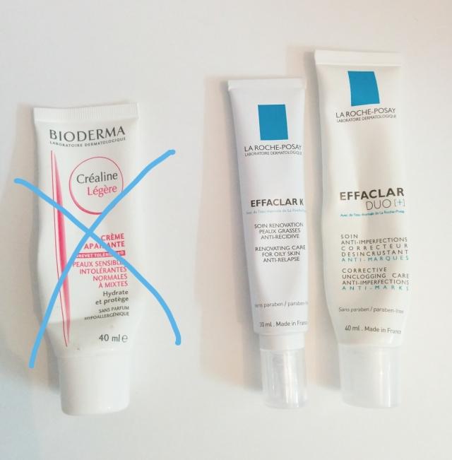 bioderma-créaline-crème-soin-acné-laroche-posay-effaclar