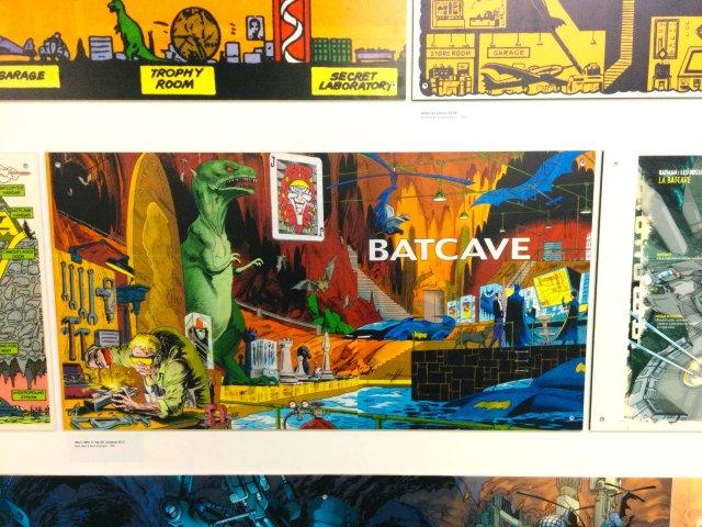 batcave-dinosaure-batman-mav-héros